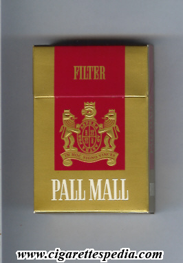 How much are Pall Mall cigarettes in Michigan
