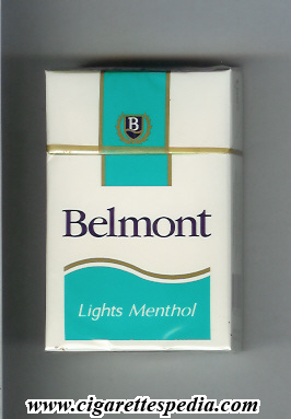 belmont chilean version with wavy bottom lights menthol ks 20 h costa rica