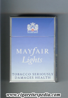 price of Benson Hedges light in Liverpool