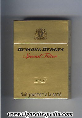 Price of Craven A cigarettes in Europe