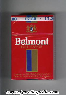 belmont finnish version full flavor ks 20 h finland